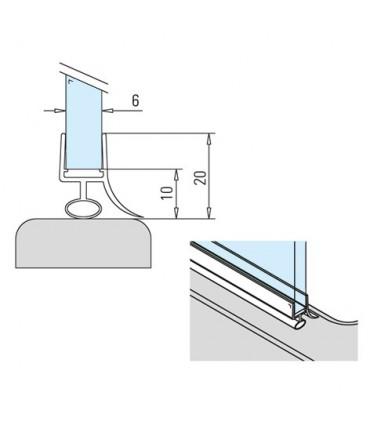 Joint d'étanchéité pour cabine de douche