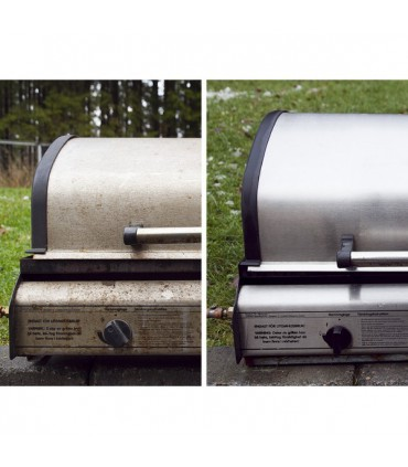 Protection inox INNOPROTECT B580 sur appreil de cuisson