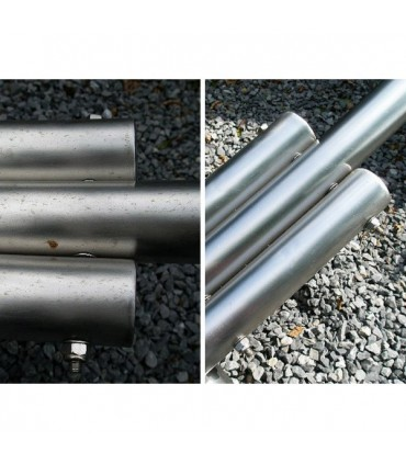 Protection inox INNOPROTECT B580 sur tube inox