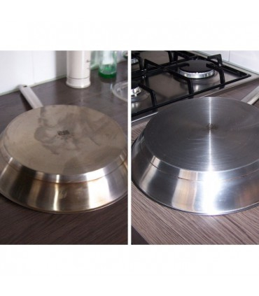 Protection inox INNOPROTECT B580 sur ustensil de cuisine