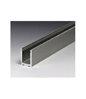 Profil aluminium en U de 30 x 21 x 30 mm série Profix 1630