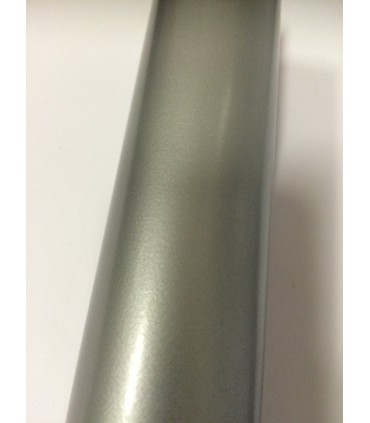Pied de table basse sur roulette série 7020 gris brillant