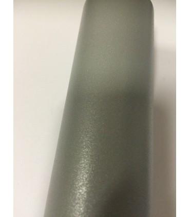Pied de table basse sur roulette série 7020 gris gaufré