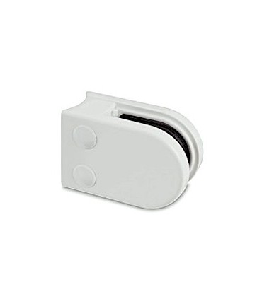 Pince à verre pour tube - modèle 22 - Zamak blanc 9016 mat