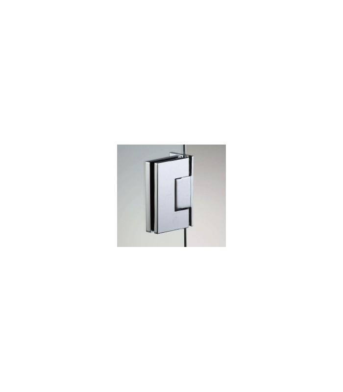 charni re lat rale hd square pour porte de douche en verre 6 8 mm igs d co. Black Bedroom Furniture Sets. Home Design Ideas