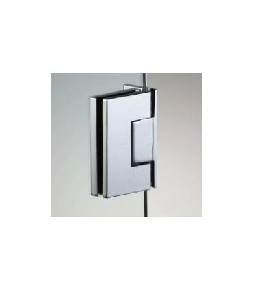 Charnière latérale HD Square pour porte de douche en verre 6/8 mm