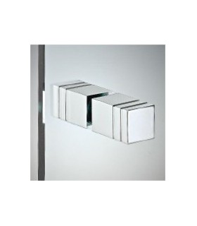 Paire de poignee carree serie 009 pictures to pin on pinterest for Bouton porte douche
