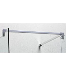 Accessoires barre raidisseur pour cloison de douche ouverte