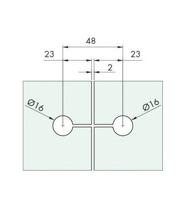 Fixation elliptique double