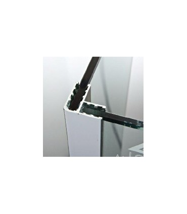 Profil angulaire aluminium brillant de 30 x 30 mm