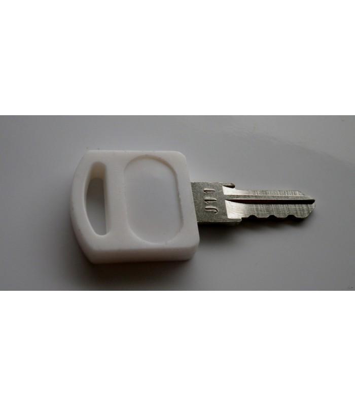 Clé maitresse (clé de passe) pour serrures batteuses
