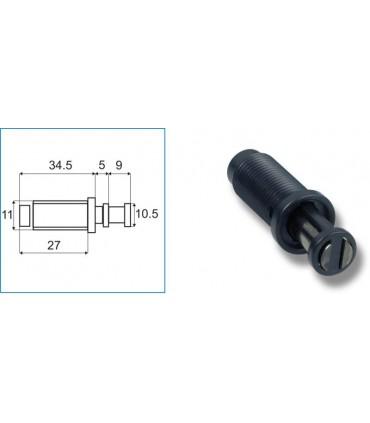 Loquet magnétique cylindrique à ressort