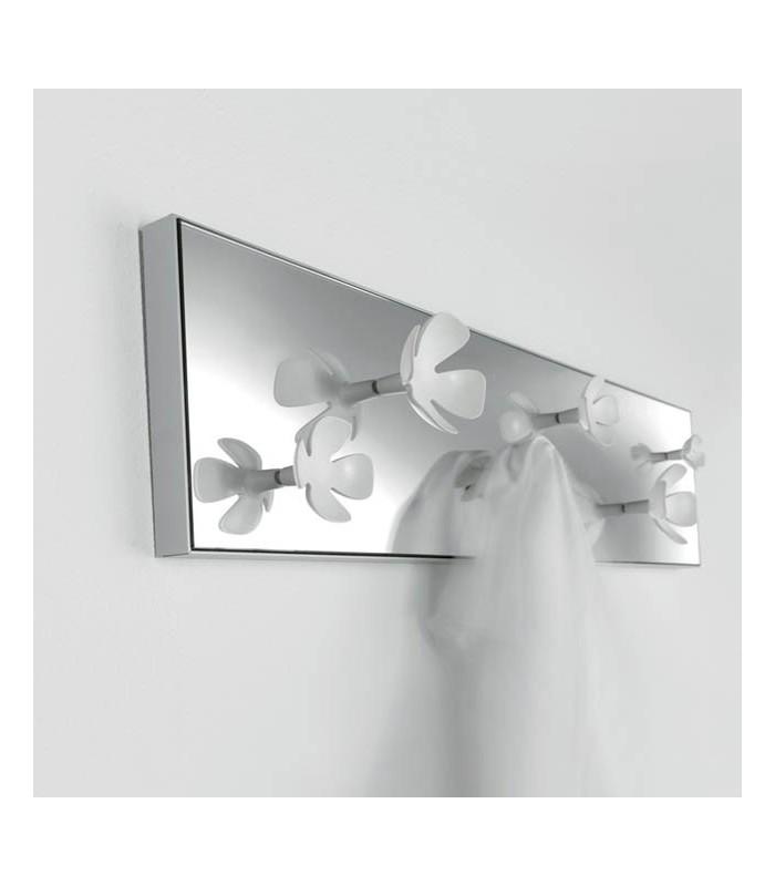 Patère miroir fleurs CC00374 par Confalonieri