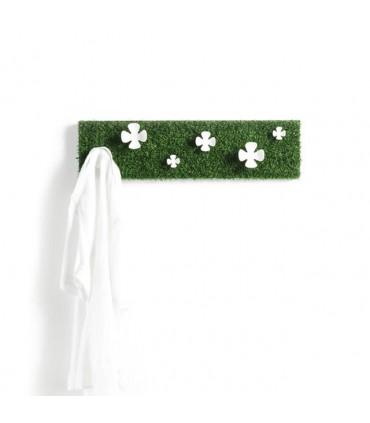 Patère fleurs sur pelouse CC00373 par Confalonieri