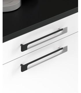 Poignée de meuble bi-color design série 824