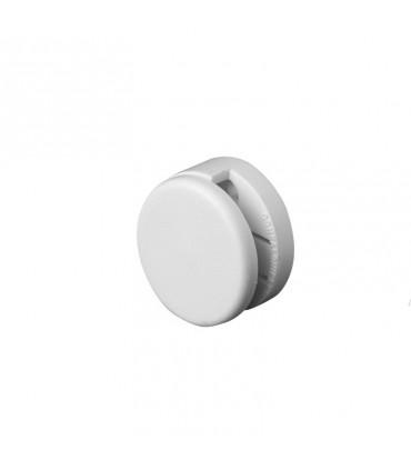 Fixation ronde en nylon pour miroir sans trou
