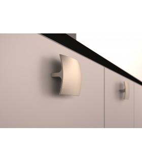 Poignée bouton carré forme convexe série 803