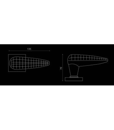 Paire de béquilles Luxor par Arius Home Design