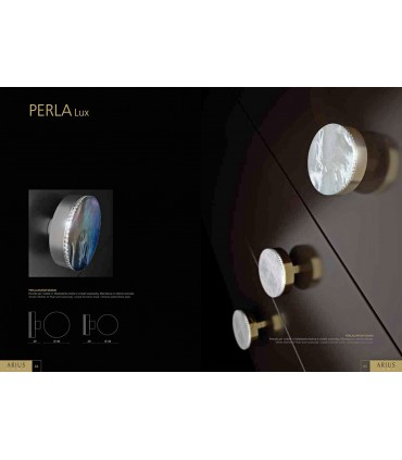 Bouton de meuble série Perla Lux par Arius home