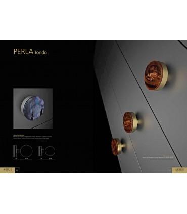 Bouton de meuble série Perla Tondo par Arius home