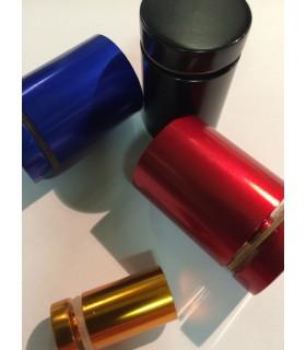 Entretoise aluminium couleur Ø 13, 19, et 25 mm pour signalétique