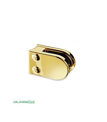 Pince à verre pour tube - modèle 27 - Zamak doré brillant