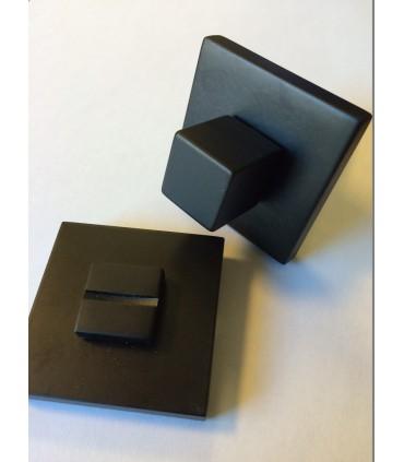 Poignée de porte LOG.GIC 117 de Groël en noir ou blanc