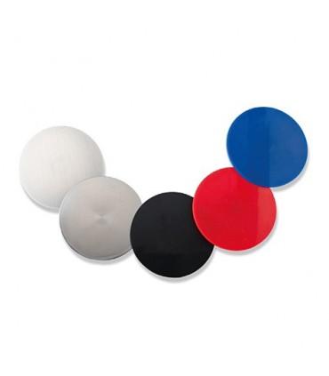 Pastilles colorées pour poignée insert forme carrée