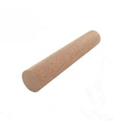 Main courante en bois exotique sapelli massif brut Ø 42 mm