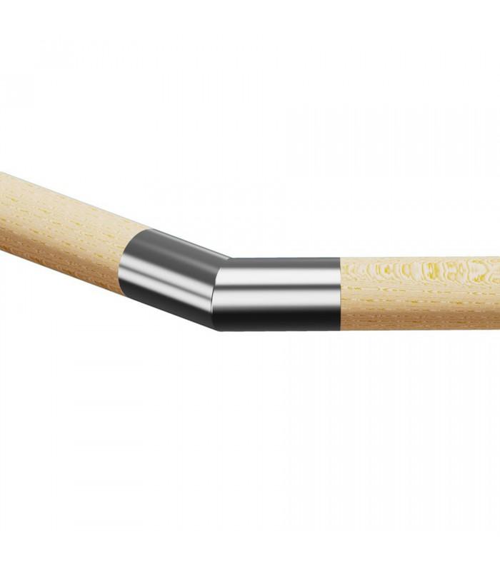 Raccord de liaison 45° bois sur bois