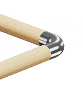 Raccord de liaison 90° bois sur bois