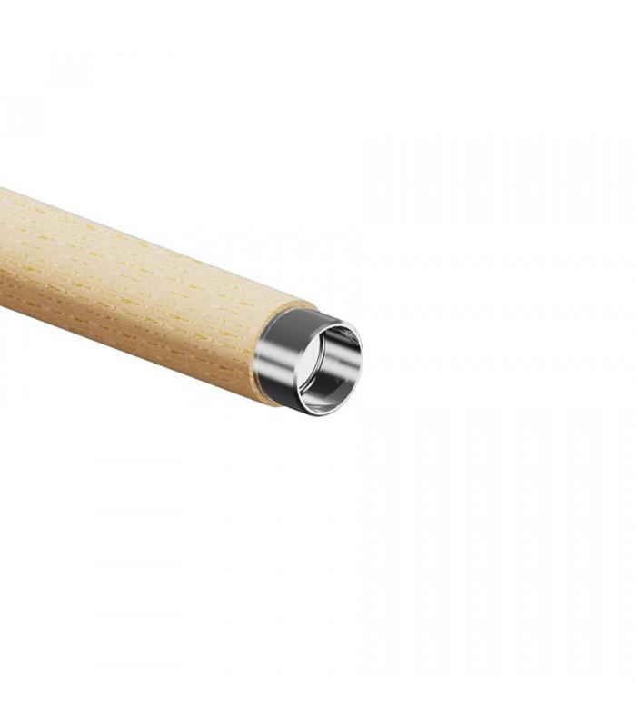 Adaptateur inox pour main courante en bois