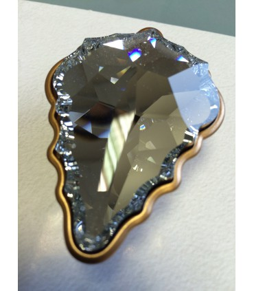 Bouton de meuble série Glam cristal Swarovski par Bosseti Marella