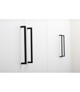 Poignée de meuble baton carré série U 0056 par Viefe
