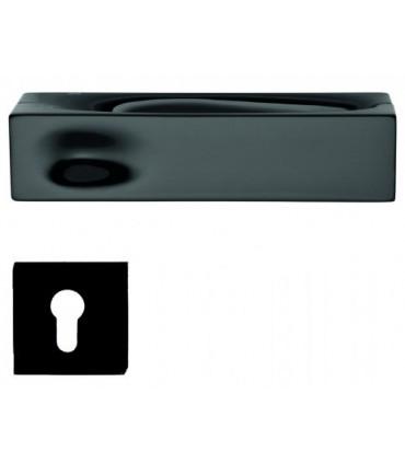 Poignée de porte INTAKE IN14 noir avec rosace clé I