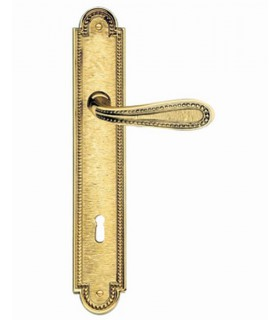 Paire de poignée sur plaque Castle 008 style Louis XVI