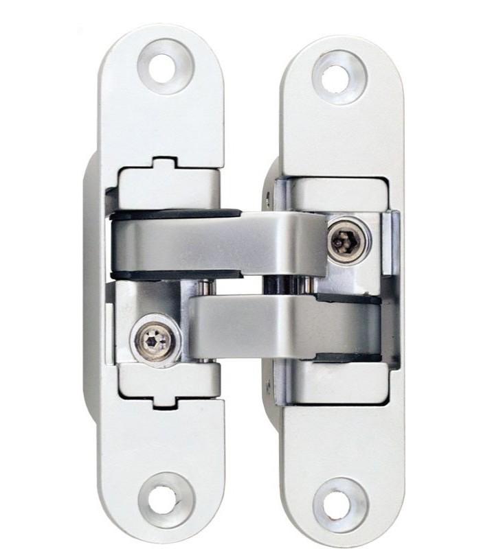Paumelles invisibles s rie 3d encastrer pour portes d for Charniere invisible porte interieure