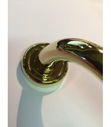 Poignée fixe en laiton pour porte palière série Roma 719