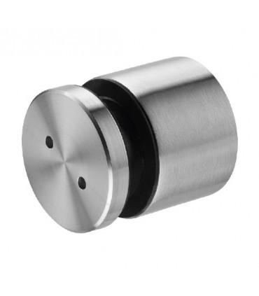 Fixation ponctuelle ajustable ronde 50 mm pour garde-corps en verre