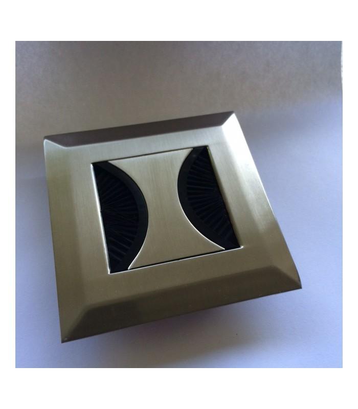 opercule passe c bles en zamak forme carr s rie butterfly. Black Bedroom Furniture Sets. Home Design Ideas