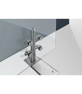 Kit penture design pour porte double action en verre poids maxi 200 kg