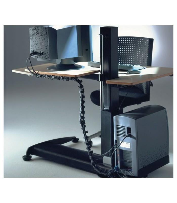 Guide-câble de bureau série Chain