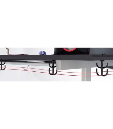 Crochet guide-fil support de câbles pour le bureau