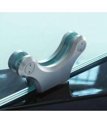Penture design pour porte lourde verre d'épaisseur 18 à 25 mm