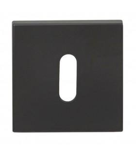 Poignée de porte ANGOLO 817 de Groël en noir ou blanc
