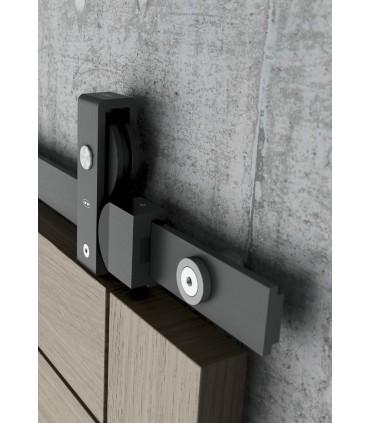 Kit Charriot System pour porte coulissante en bois