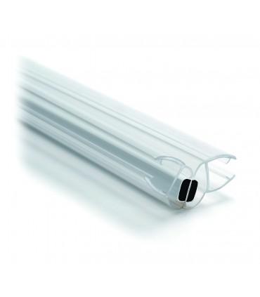 Joint d'étanchéité magnétique à 135° pour paroi de douche en verre