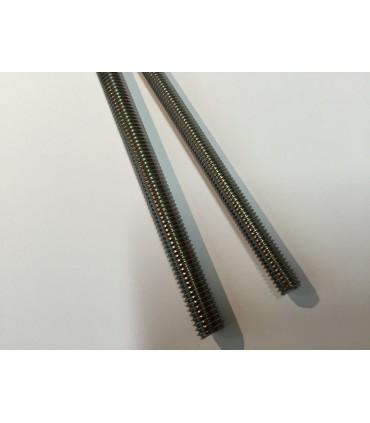 Tige filetée inox A4 M6 ou M8 Longueur 130 mm