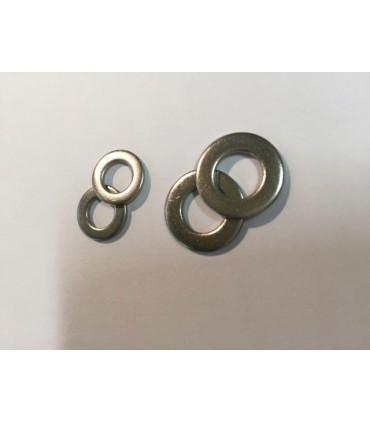 Rondelle inox A4 (316) diamètre 12 et 16 mm
