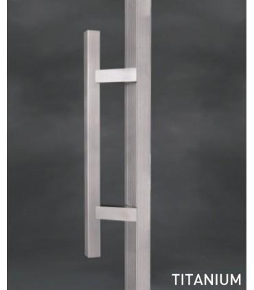 Paire de Poignée carrée série 009